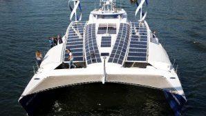 Яхта на экологичной энергии