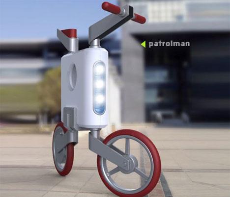 Электровелосипед Patrolman