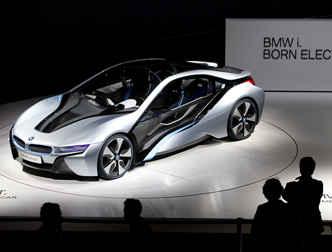 Электроавтомобиль BMW i8