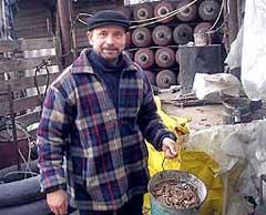 Петр Родионов, живущий в поселке Прилиманское