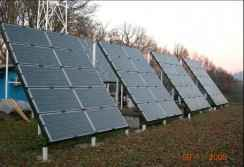 Станция на солнечных батареях