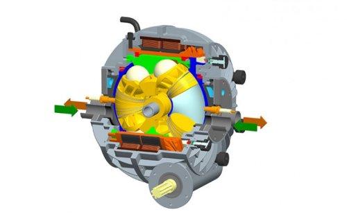 Сферический двигатель Г Хатлина
