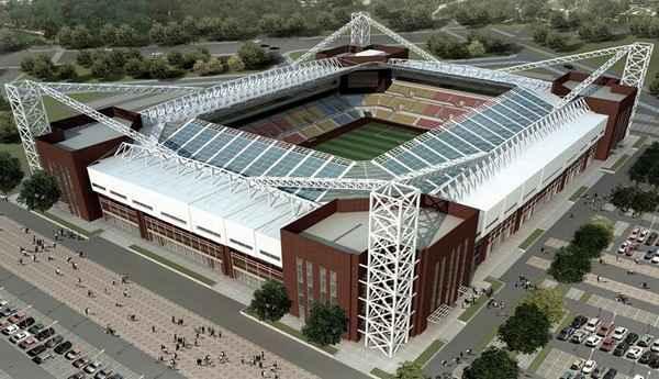 Футбольный эко-стадион