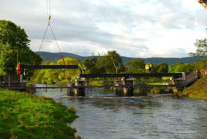 Мост на 100% из перерабатываемых материалов