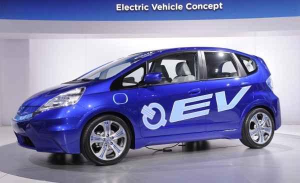 Электромобиль Honda Jazz (Fit) EV