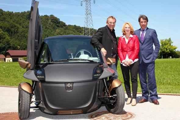 KTM PowerSports демонстрирует электромобиль KTM E3W