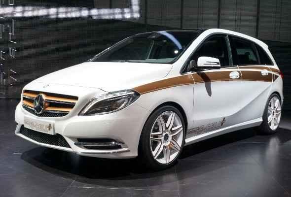 Mercedes-Benz B-Class E-Cell Plus