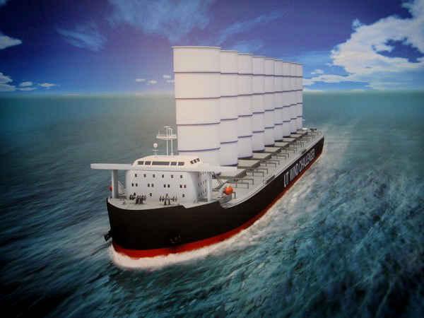 Проект парусного судна будущего - Wind Challenger