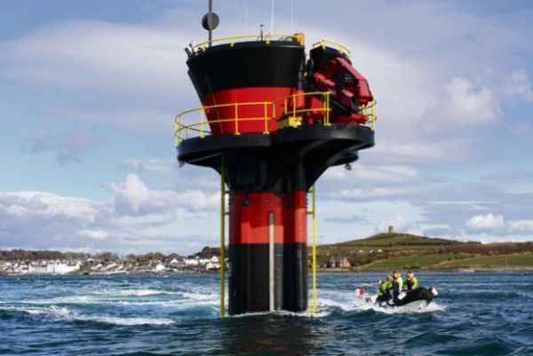 Подводная турбина на Ист-Ривер