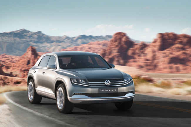 Концепт Volkswagen Cross Coupe