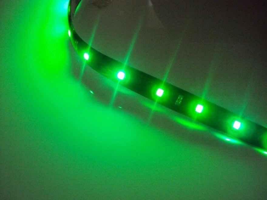 Светодиодная лента SMD3528 зеленого свечения