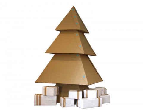 Новогодняя елка, вариант 4