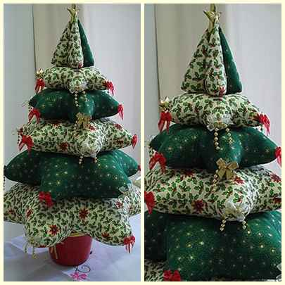 """Новогодняя елка, вариант 17 """"Мягкая елка"""""""
