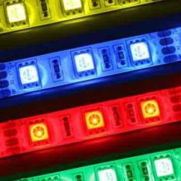 Светодиодная лента SMD5050 RGB разноцветная
