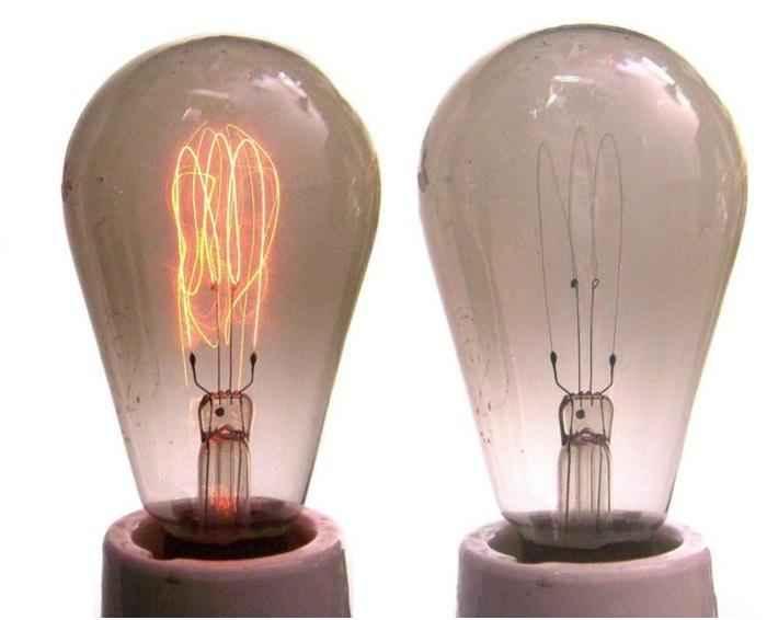 Карбоновая лампа