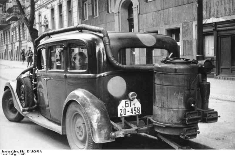 Газогенераторные технологии были обычным явлением во многих европейских странах во время Второй мировой войны