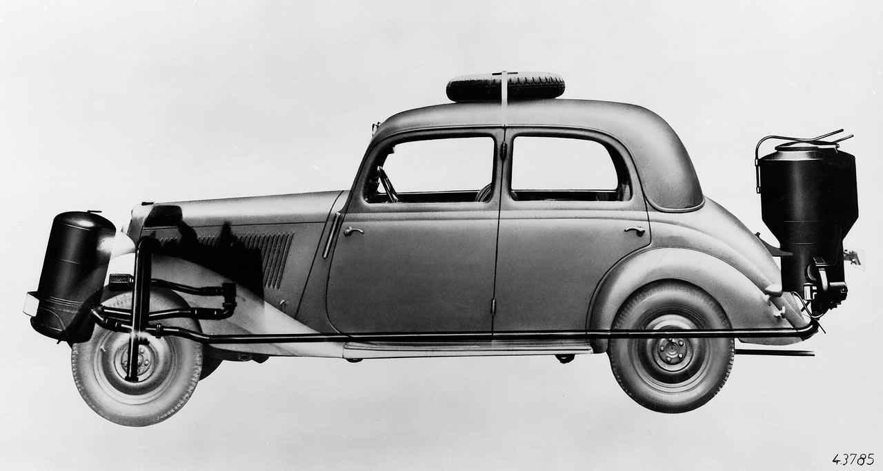 Газогенераторный Mercedes-Benz 170 VG 1935 года
