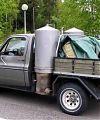 Chevrolet Сеппо Лааксонена из Хельсинки. Один из первых переоборудованных (в 80-х гг.) газогенератором автомобилей.