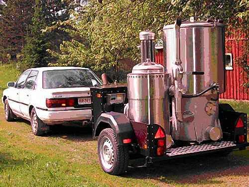 Тойота Camry 2,0 GLI на древесном газу