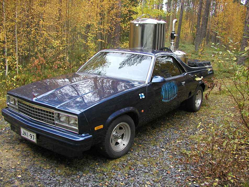 Chevrolet El Camino, 1987 года