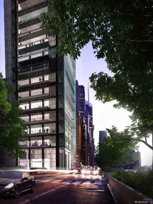 50-этажный эко-небоскреб