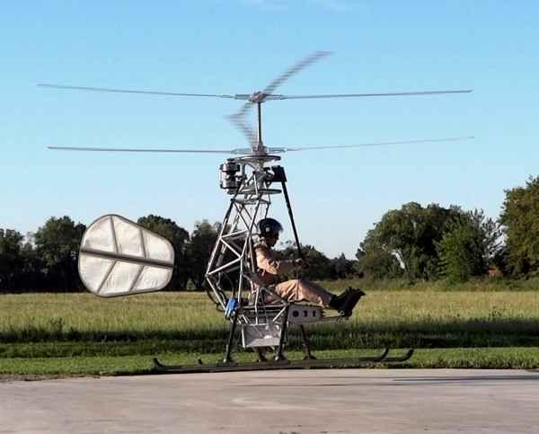 Электрический вертолет