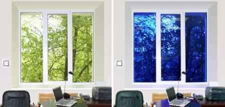 Электрохромное стекло