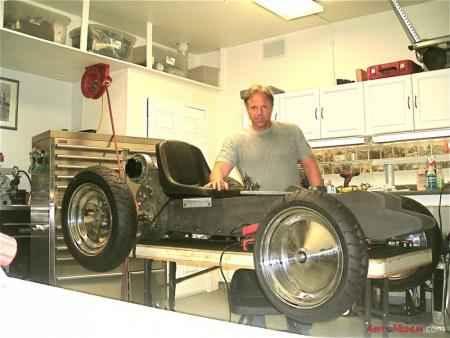 Электромобиль Z-Kart и его изобретатель