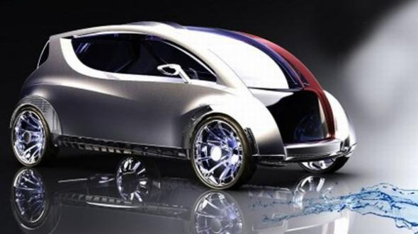 Китайский электромобиль MiraQua