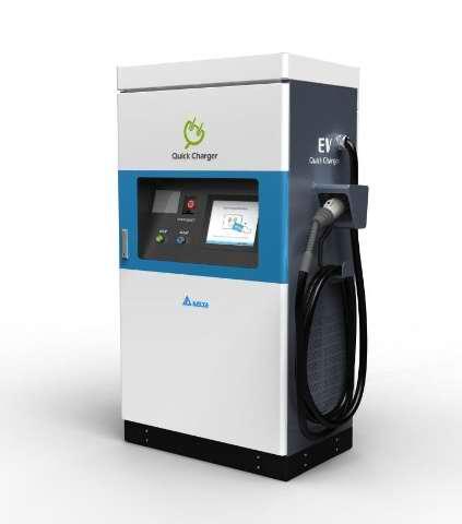 Зарядная станция для электромобилей Delta Electronics