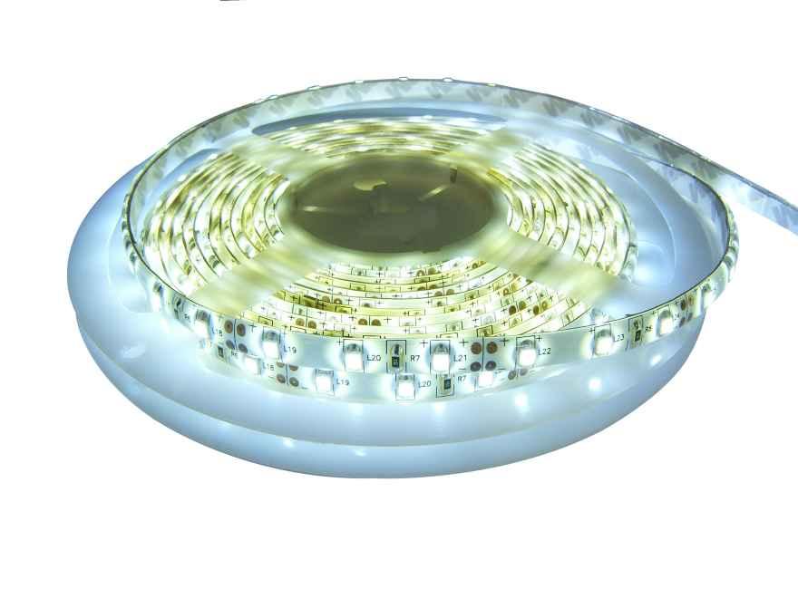 Светодиодная лента SMD3528 белая холодная, для наружного использования