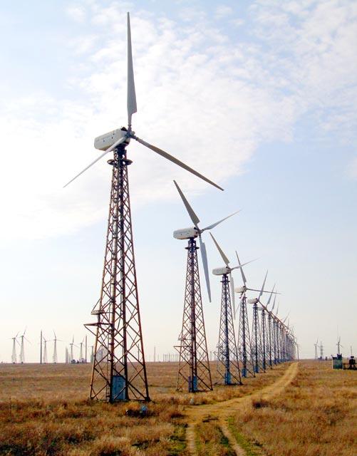 Ветроустановка сетевая USW 56-100