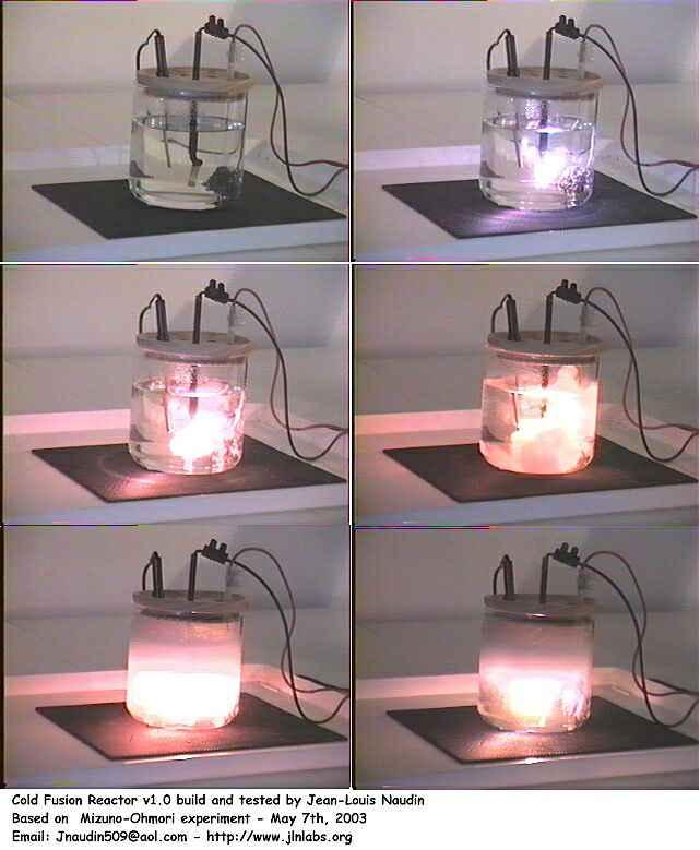Лабораторный реактор холодного термоядерного синтеза