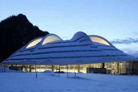 MaxAicherArena - уникальная зимняя арена