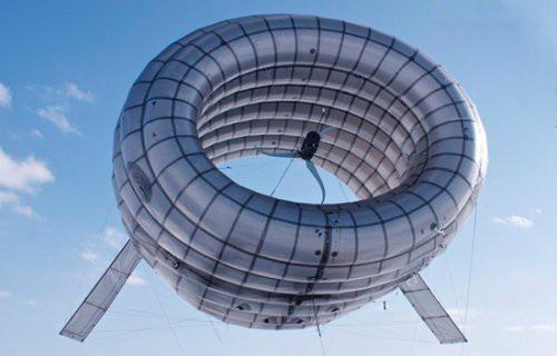 Дирижабль ветрогенератор