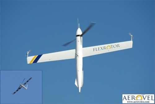 Вертикально взлетающий летательный аппарат Flexrotor