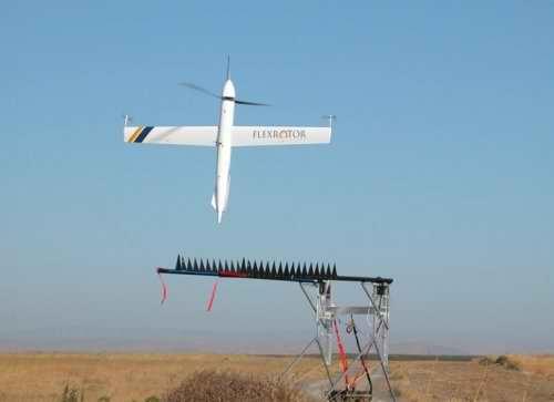 Конструкция для запуска летательного аппарата Flexrotor