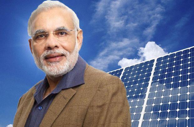 """Премьер-министр Индии Нарендра Моди """"за"""" солнечную энергию"""